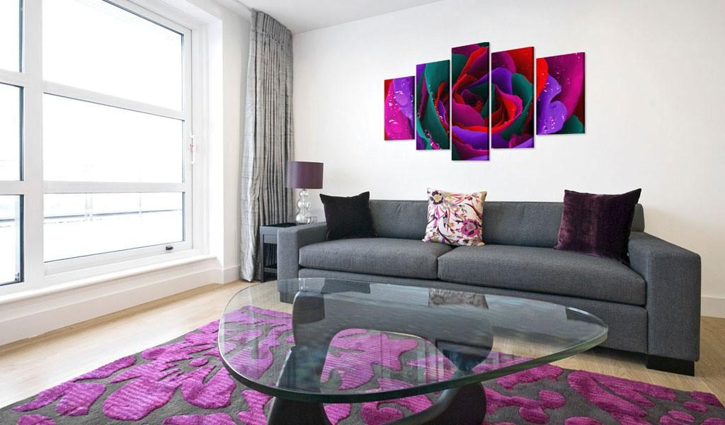 Quadro - Multicoloured Rose 200X100Cm Erroi