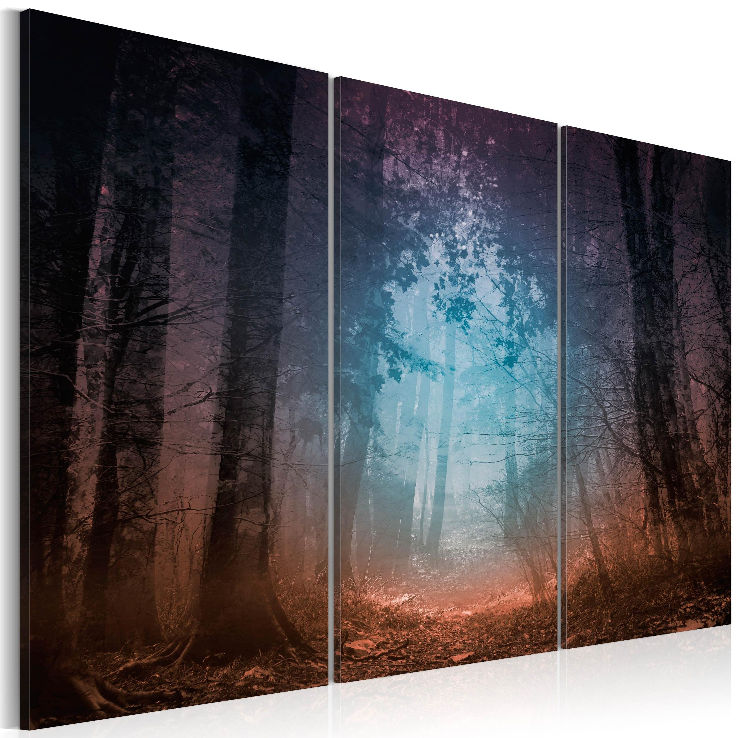 Quadro - Edge Of The Forest - Triptych 120X80Cm Erroi