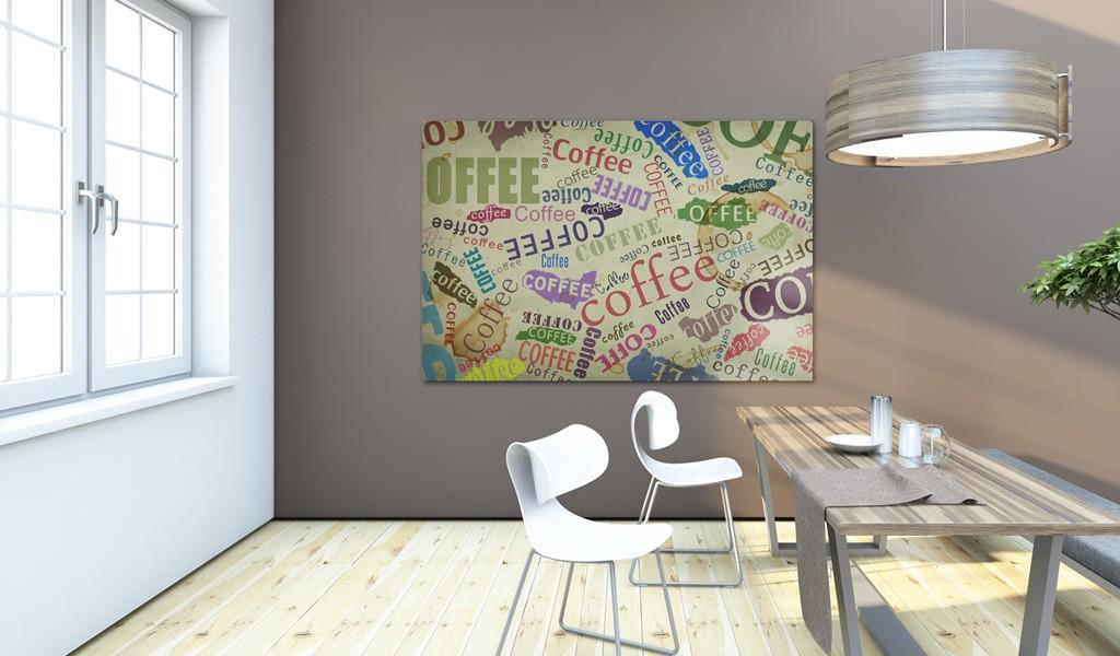Quadro - Coffee Is Always A Good Idea 60X40Cm Erroi