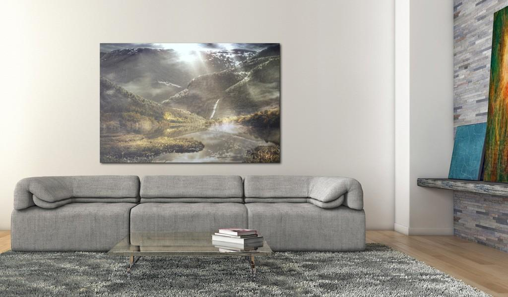 Quadro - The Land Of Mists 90X60Cm Erroi