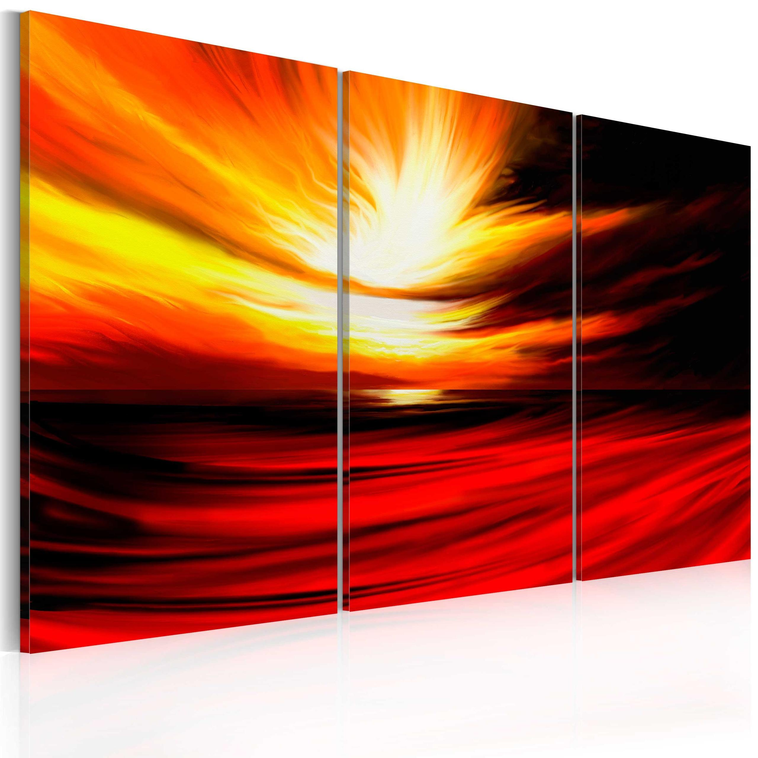 Quadro - Fire From The Sky 60X40Cm Erroi