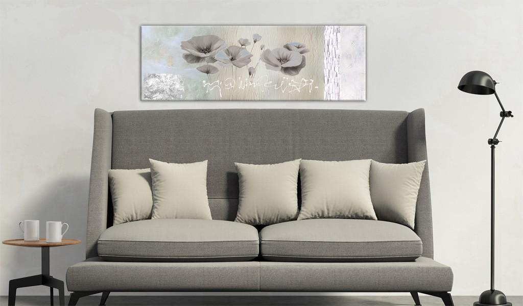 Quadro - Poppies In Hibernation 120X40Cm Erroi
