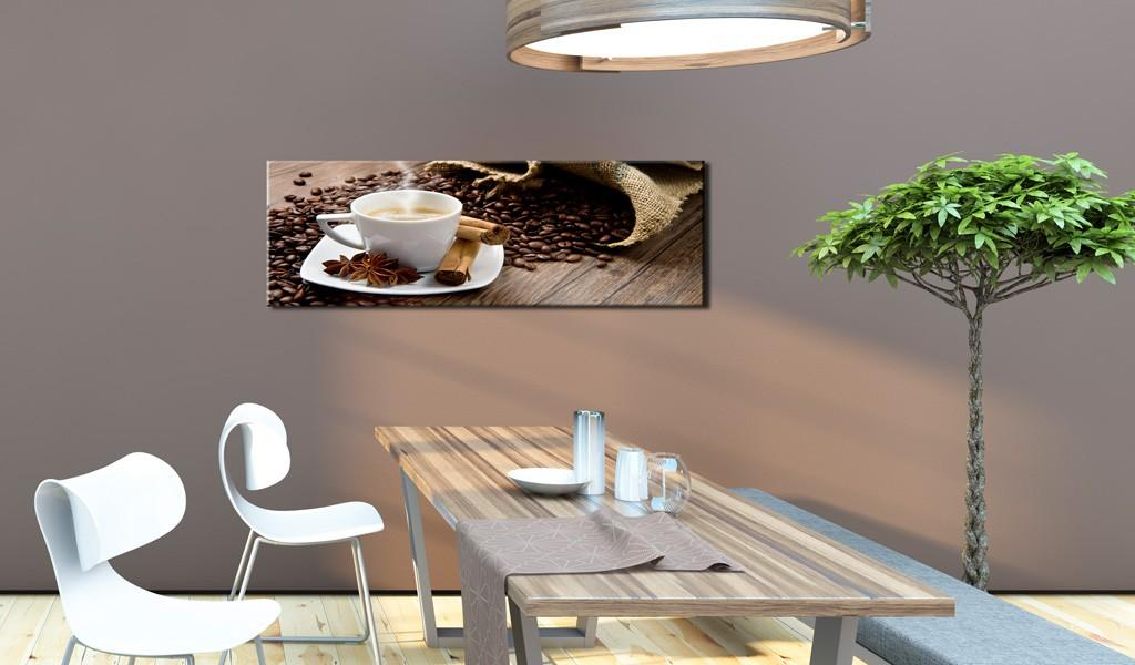 Quadro - Afternoon In The Cafe 120X40Cm Erroi