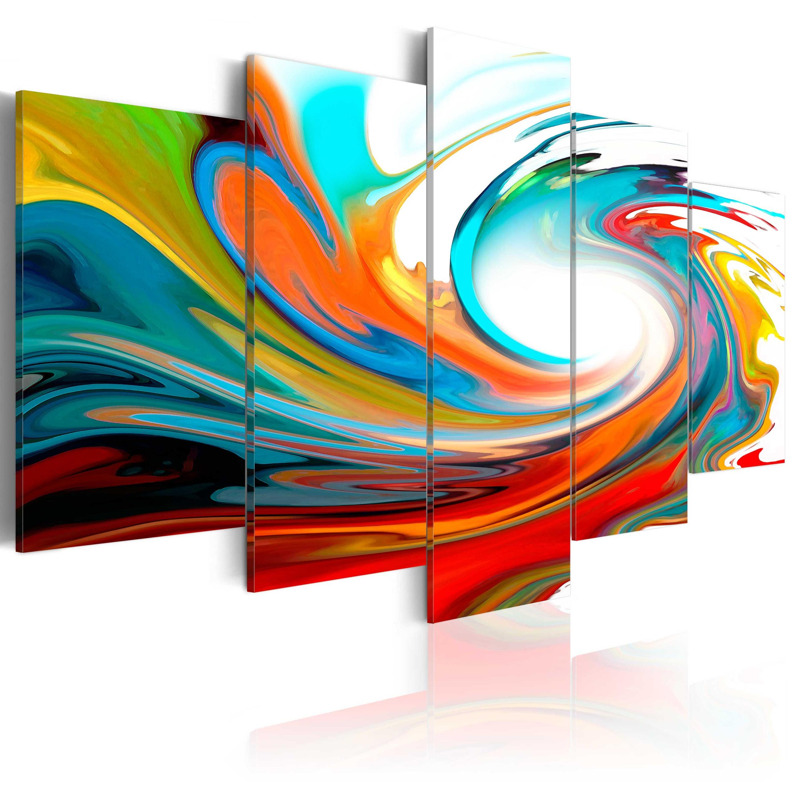 Quadro - Colorful Swirl 200X100Cm Erroi