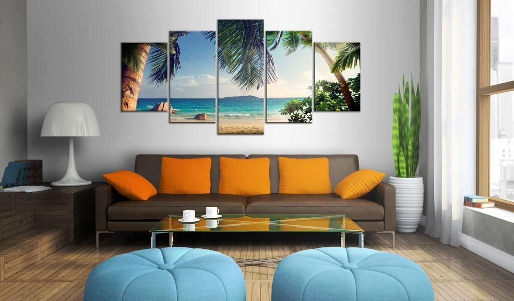 Quadro - Under Palm Trees 200X100Cm Erroi