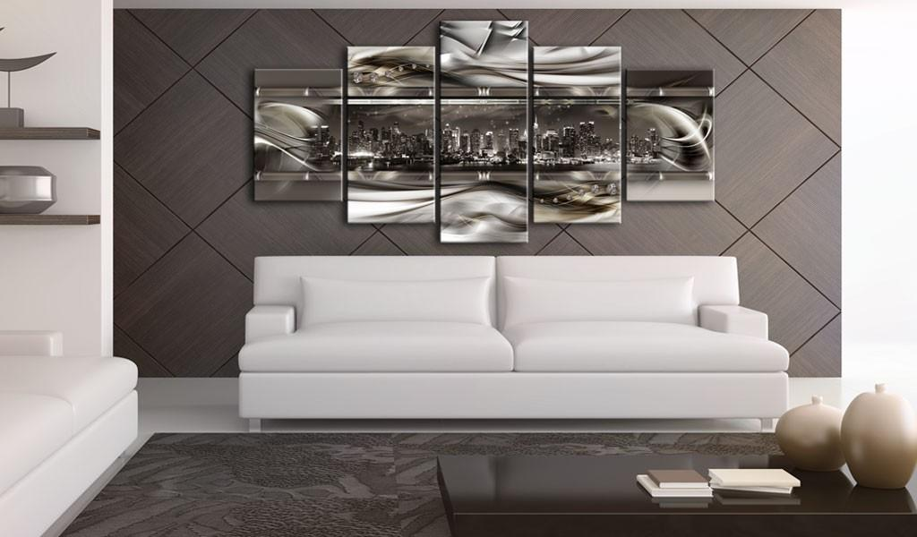 Quadro - On The Crest Of A Metal Wave 100X50Cm Erroi