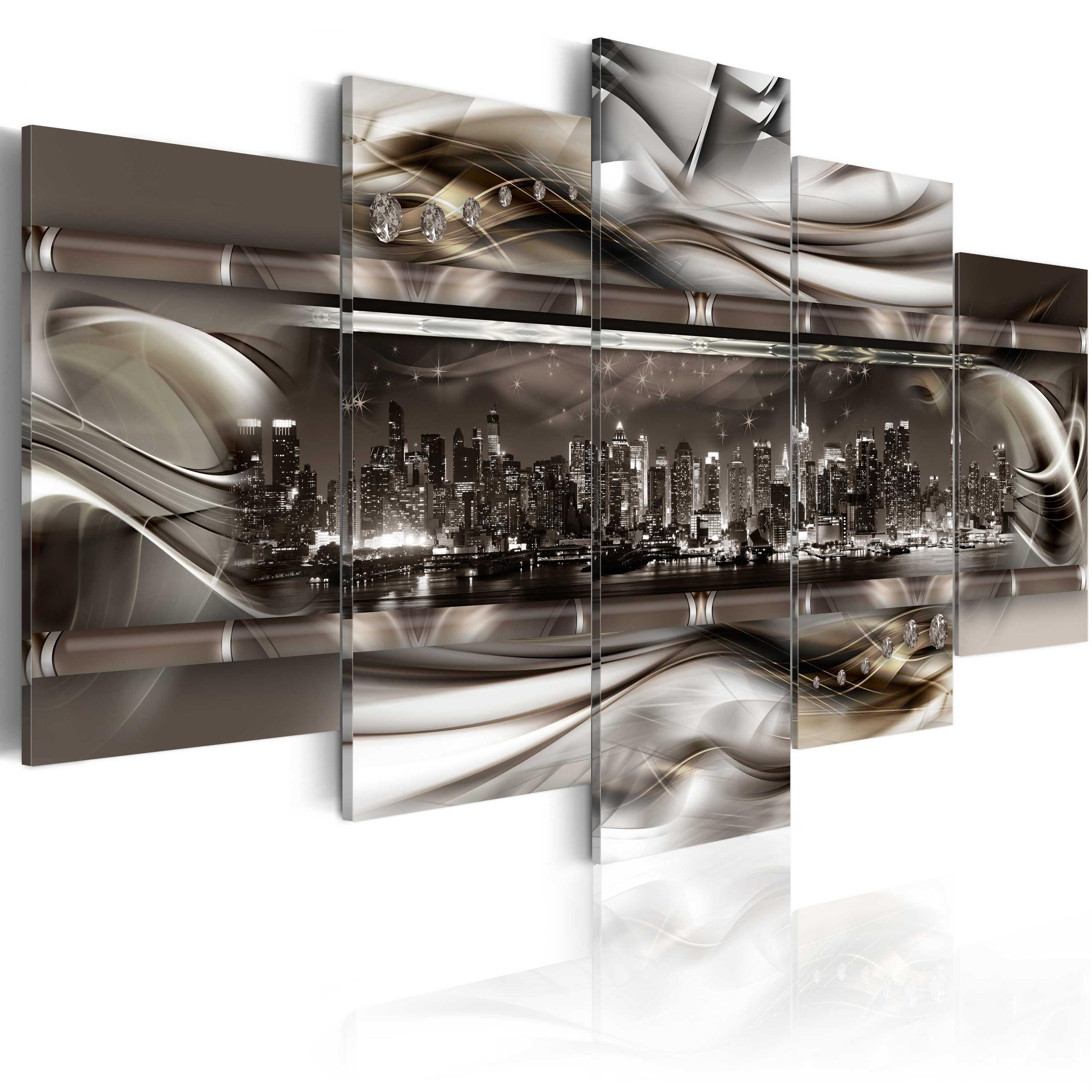 Quadro - On The Crest Of A Metal Wave 200X100Cm Erroi