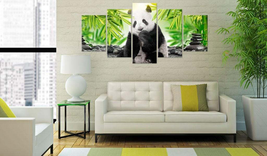 Quadro - Sweet Little Panda 200X100Cm Erroi