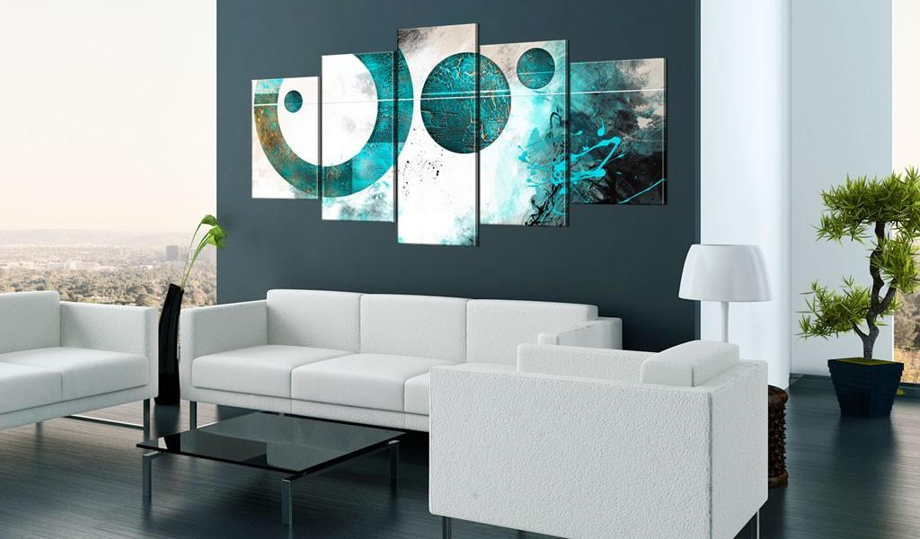 Quadro - Discovering Blue 200X100Cm Erroi