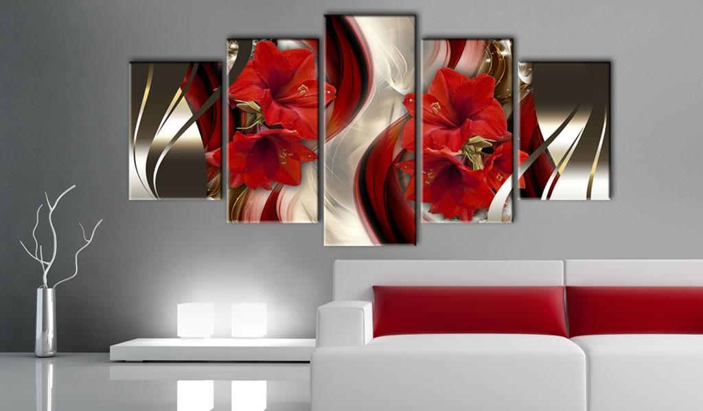 Quadro - Crimson Nights 200X100Cm Erroi