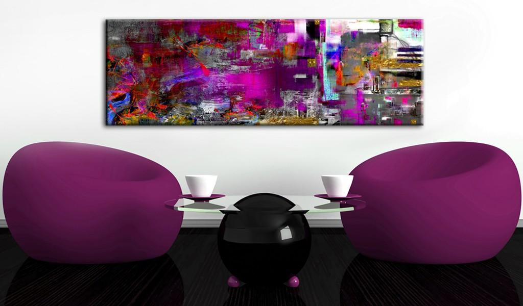 Quadro - Purple Orangery 135X45Cm Erroi