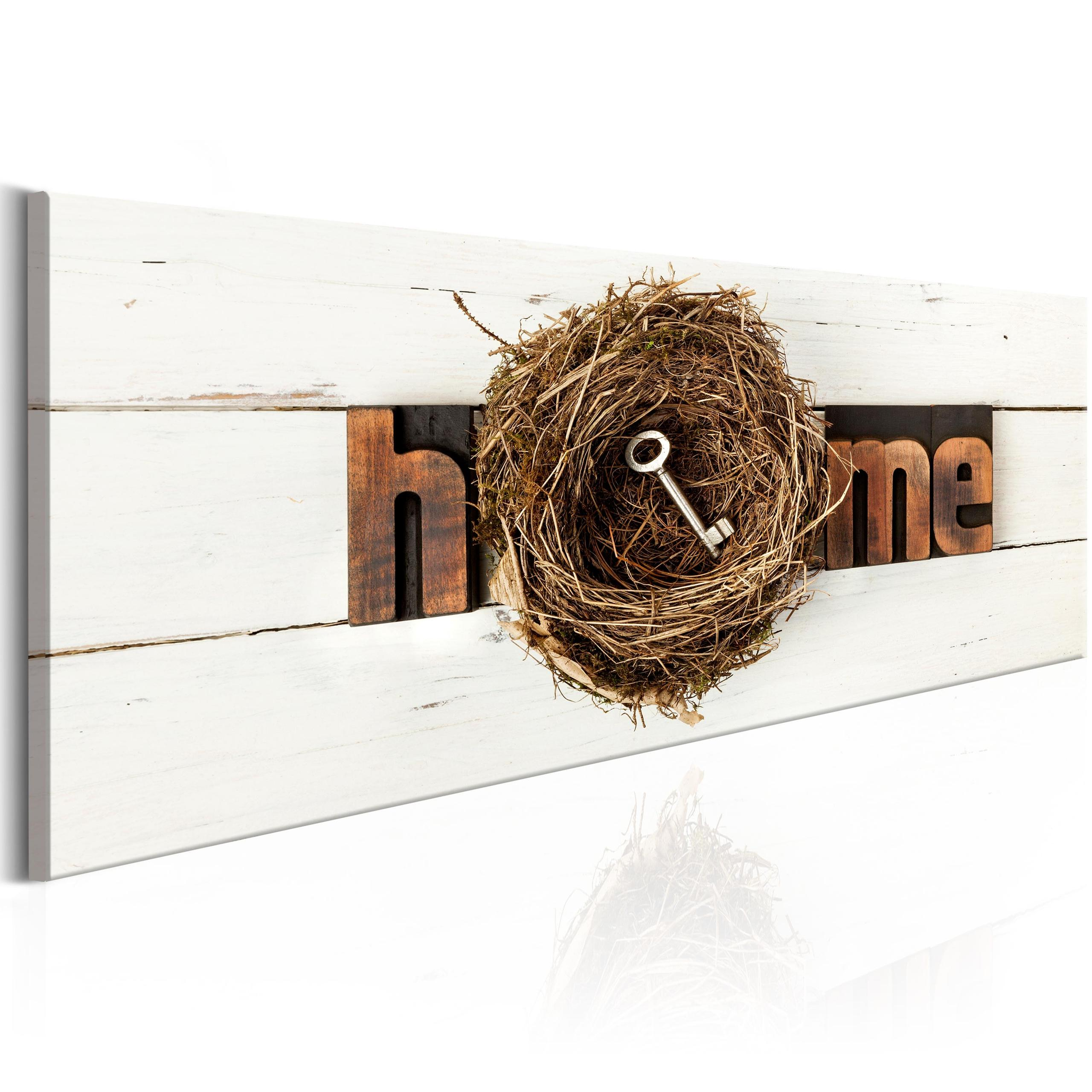 Quadro - Home Nest 120X40Cm Erroi