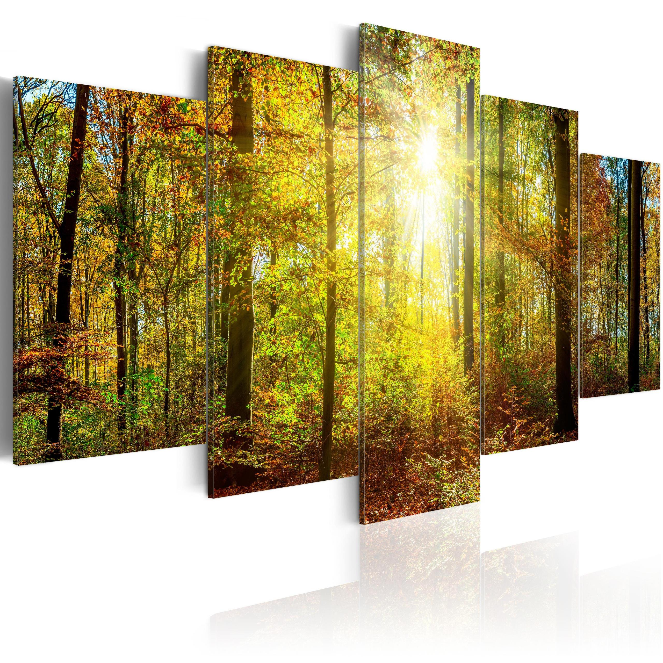 Quadro - Mystical Forest 200X100Cm Erroi