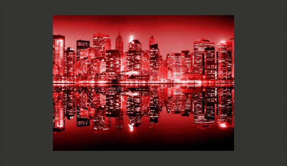 Fotomurale - Red-Hot Nyc 250X193Cm Carta Da Parato Erroi
