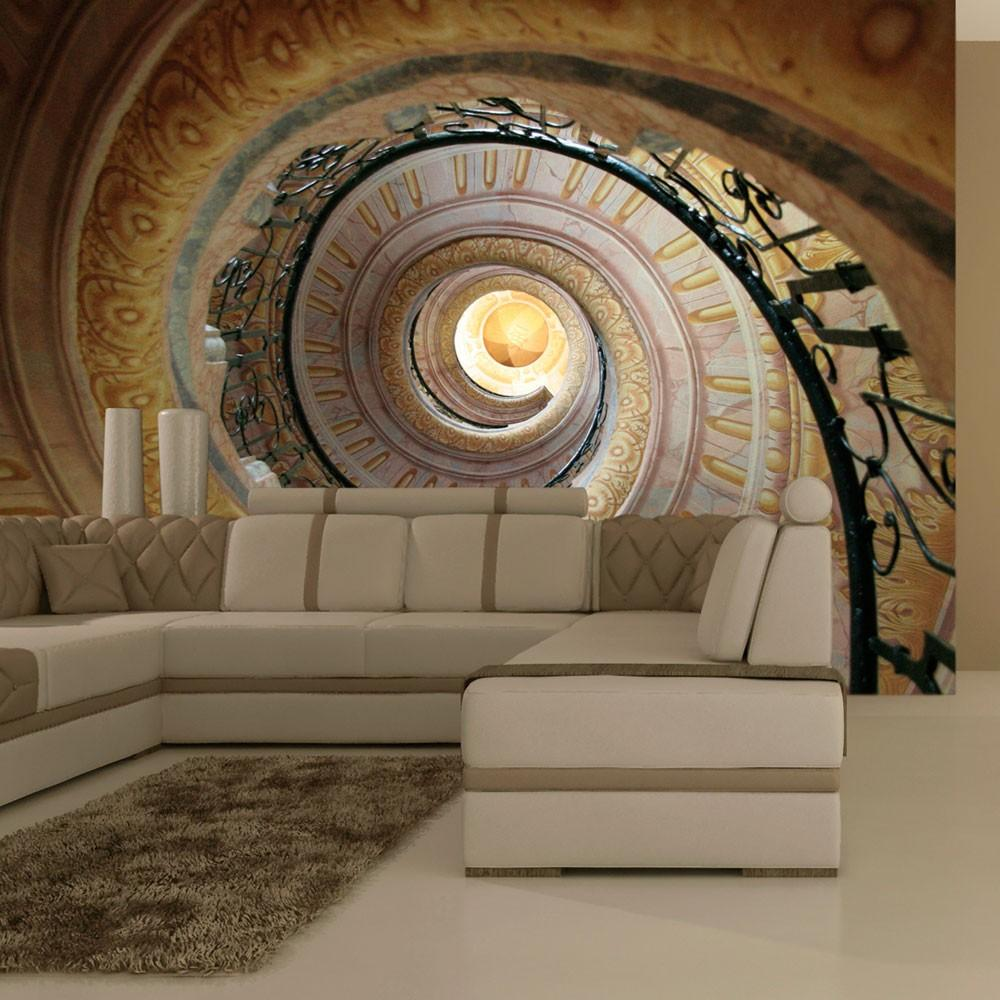 Fotomurale - Decorative Spiral Stairs 250X193Cm Carta Da Parato Erroi