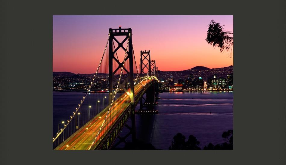 Fotomurale - Charming Evening In San Francisco 300X231Cm Carta Da Parato Erroi