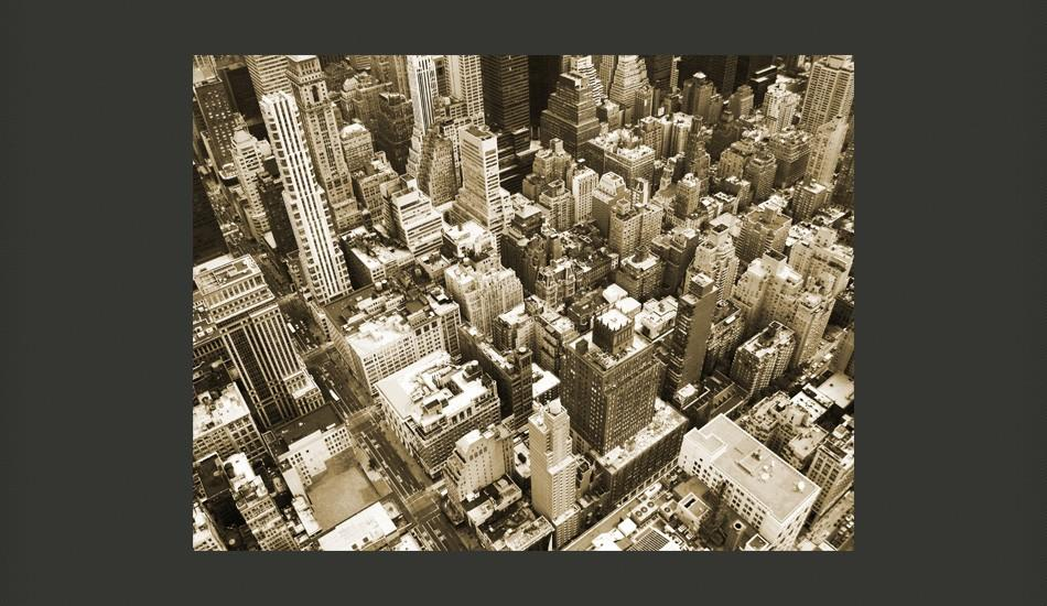 Fotomurale - New York, Manhattan 300X231Cm Carta Da Parato Erroi