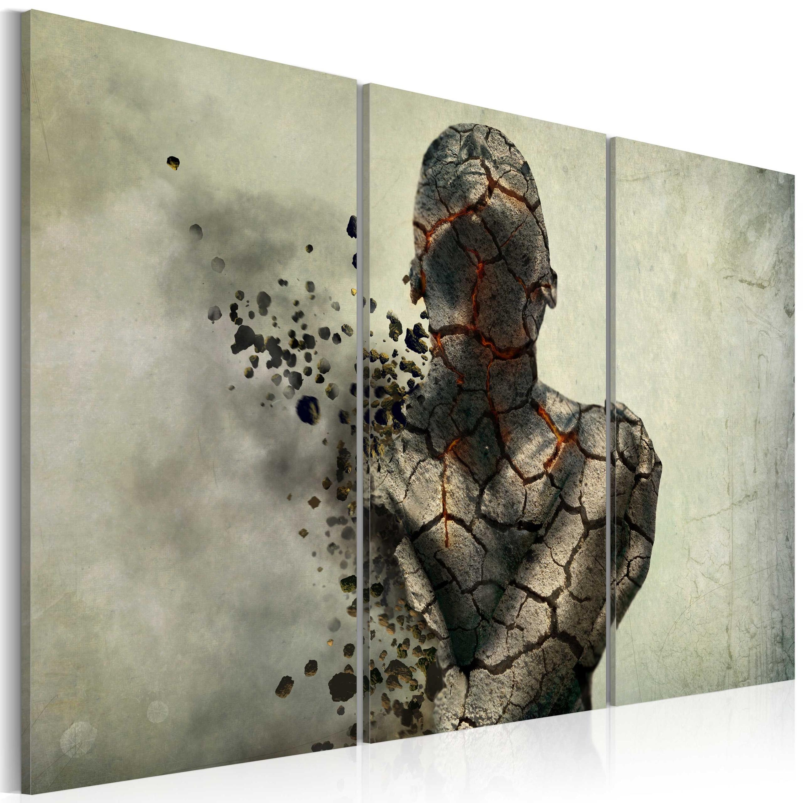 Quadro - The Man Of Stone - Triptych Erroi