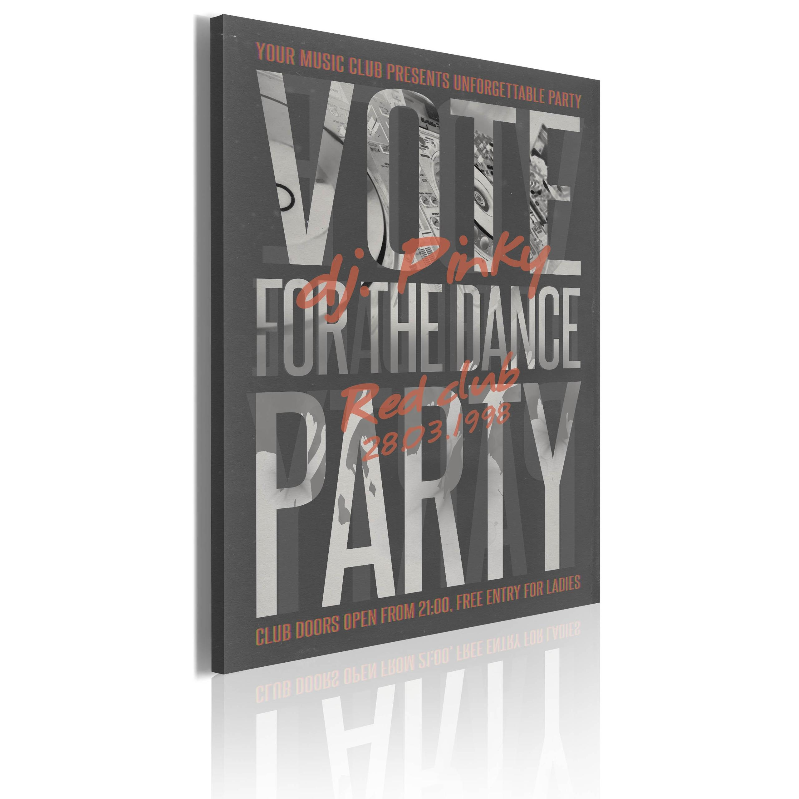 Quadro - Vote For The Dance Party! Erroi