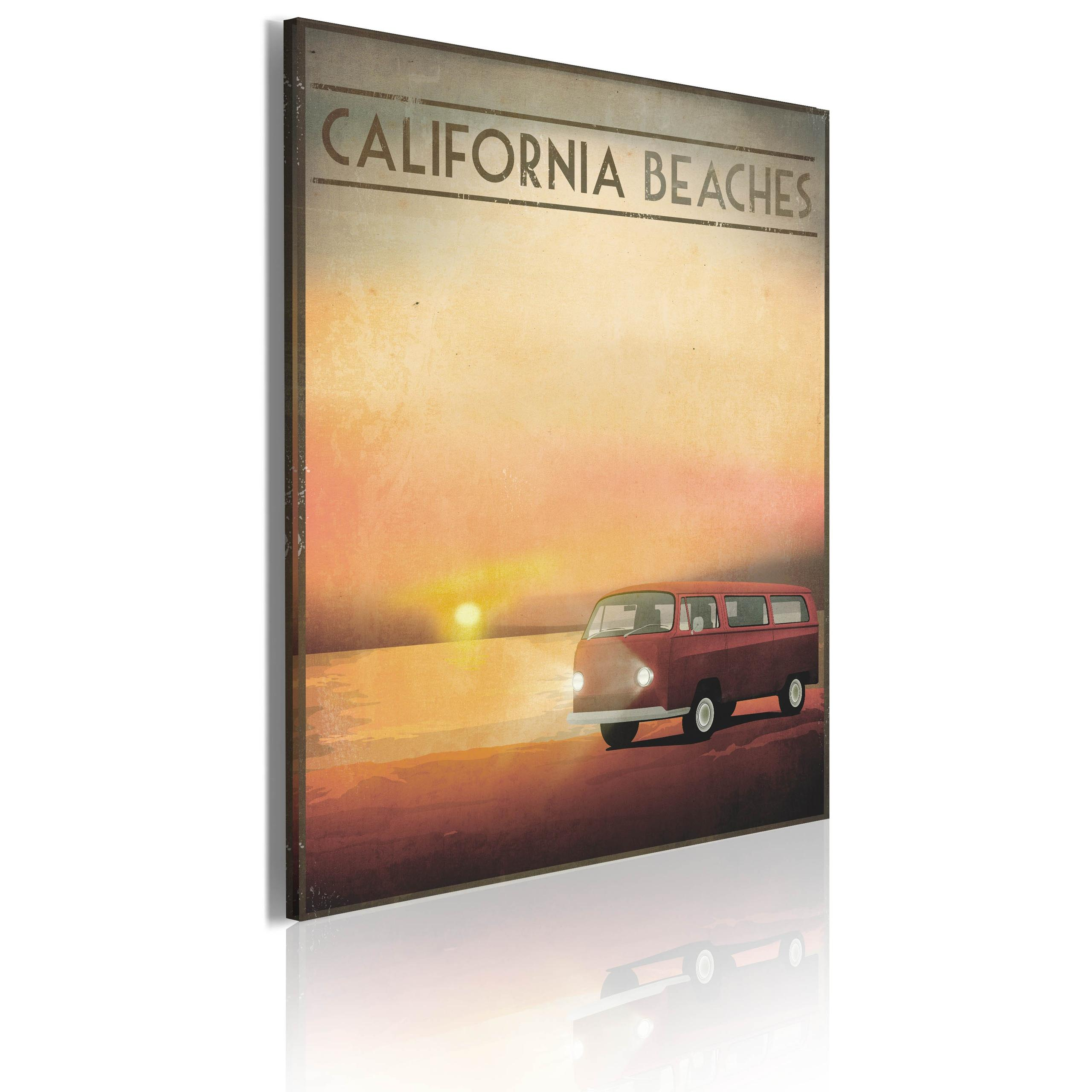 Quadro - California Beaches Erroi