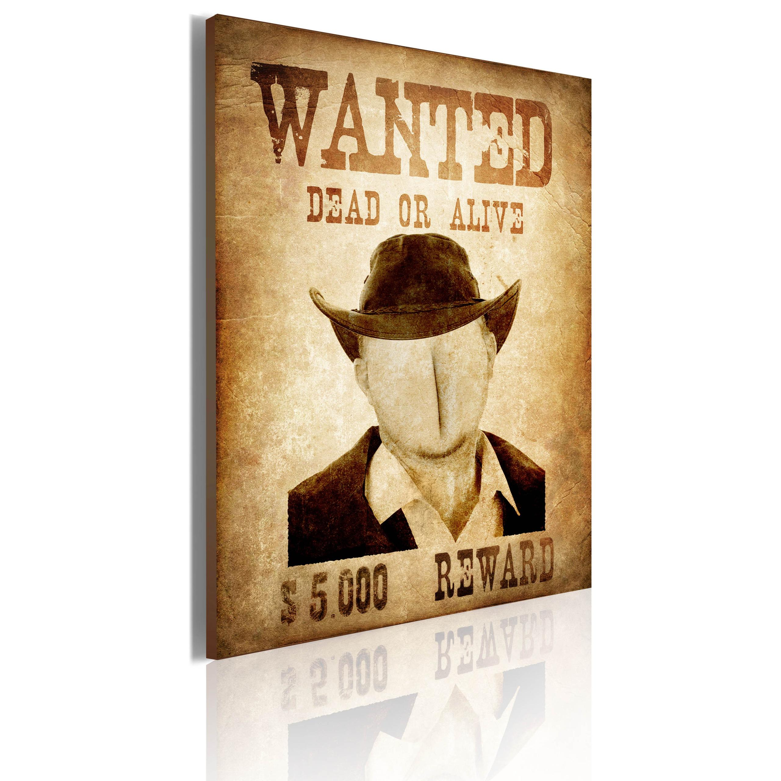 Quadro - Wanted Erroi