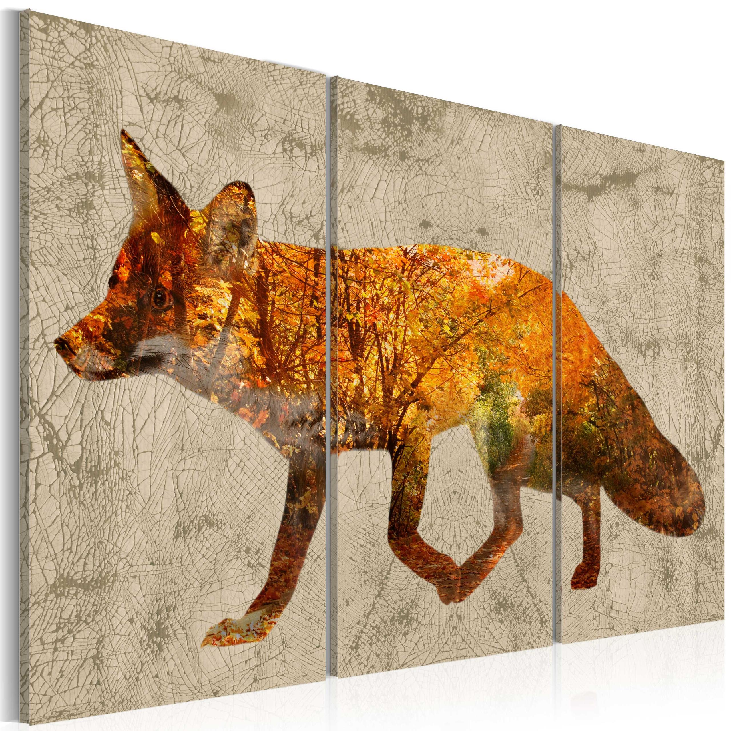 Quadro - Fox In The Wood Erroi