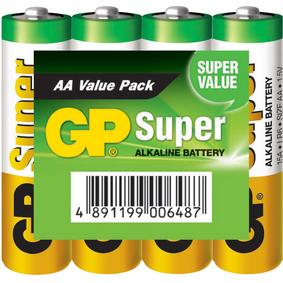 Foto Batterie Alcaline Aa/Lr6 1.5 V Super Display 48X4-Shrink Giordanoshop.com