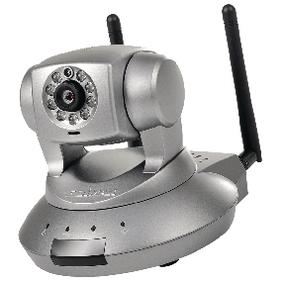 Foto Pan-Tilt Ip Camera 1280 X 720 Dark Grey Giordanoshop.com Telecamere