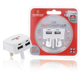 Foto Uk Usb Charger 2.1A Giordanoshop.com Accessori da Viaggio