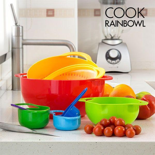Image of Utensili da Cucina Cook Rainbowl