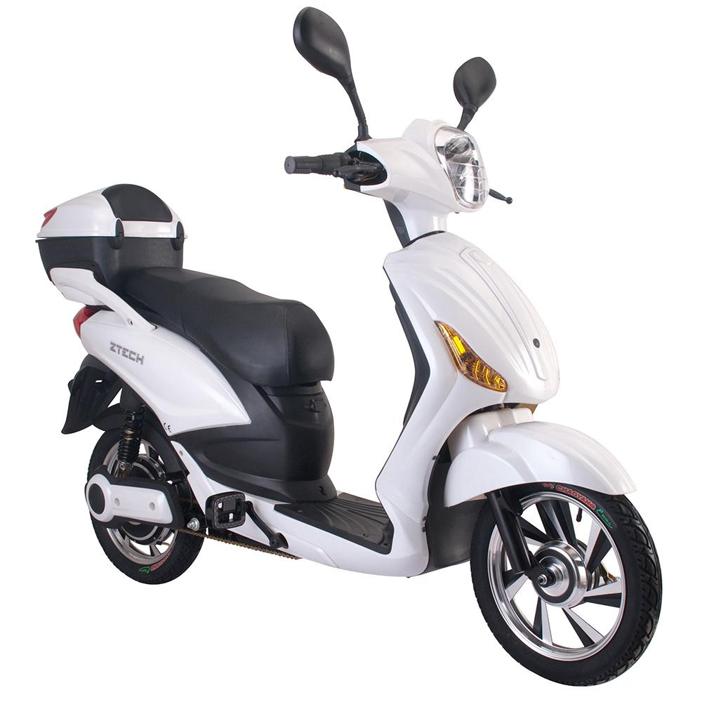 Image of Scooter Elettrico 500W Z-Tech E-Scooter Bianco